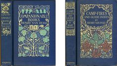 These books, and others designed by Margaret Armstrong, will be on display in the lobby of the Downtown Library. These and others in this collection can be ...