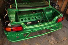 Get nutZ green s14 rear bash bar drift fab
