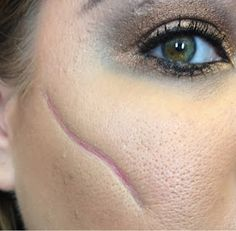 Neapolitan Beauty: Halloween Makeup: Pirate with 3D Scar