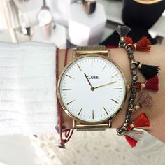 Cluse watch minimalistic boutique