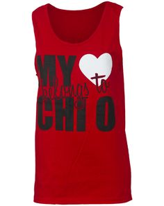 Chi Omega Heart