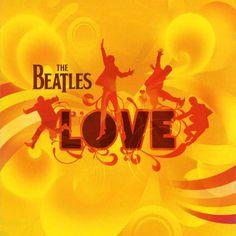 Carátula Interior Trasera de The Beatles - Love