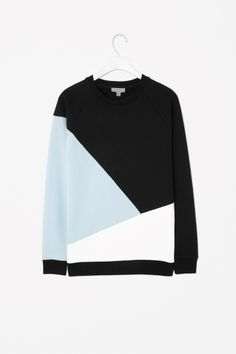 BLOCK COLOUR SWEATSHIRT, COS