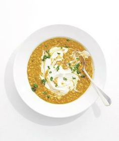 Barley and Lentil Soup recipe