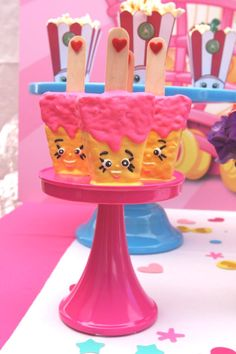 Race Krispy Treats from a Shopkins Birthday Party via Kara's Party Ideas | KarasPartyIdeas.com (7)