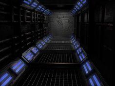 SciFi Corridor by TRiGGER80