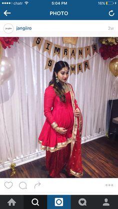 Pregnancy Indian attire inspo