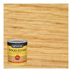 Minwax Wood Finish Oil-Based Stain Natural Oil-Based Interior Stain (Quart) in the Interior Stains department at Lowes.com Water Based Wood Stain, Oil Based Stain, Natural Oils, Natural Wood, Unfinished Wood Furniture, Pit Barrel Cooker, Pine Oil, Natural Interior, Container Size