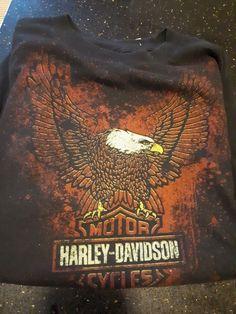 low priced 011bc 98970 Harley Davidson T-shirt vintage Canada Edition size Medium  HarleyDavidson   GraphicTee