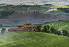 "500px / Photo ""Dawn in Tuscany"" by mauro maione"