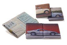 Porta documento carro vintage