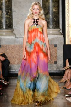 Tie dye heaven. This dress is HOT!