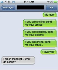 20 Funny Text Message Reponses