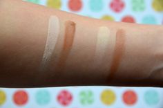 Swatches of the Wet n Wild Contouring Palettes! http://colouringmehappy.com/2016/03/10/wet-n-wild-coloricon-contouring-palettes-in-caramel-toffee-and-dulce-de-leche/