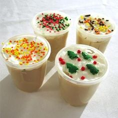 Sugar Cookie Jello Shot. Christmas party anybody?