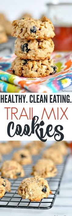 Healthy Trail Mix Cookies + a Blendtec Giveaway