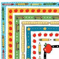 Image result for school supply clipart borders | Clipart ...