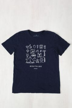 Mens Outside Tee   United By Blue