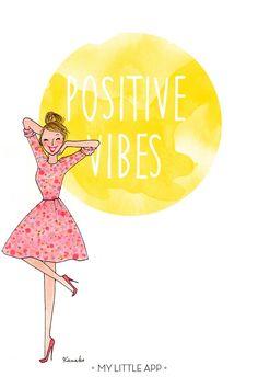Illustration by Kanako - Positive Vibes