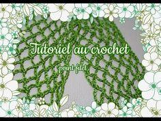 Point filet ou résille au crochet, tutoriel facile/Point semplice tutorial filet crochet - YouTube