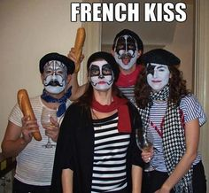 French KISS. BWAHAHAHAHAHA!!! I love this so much- mostly because I know you are laughing as hard as I am right now!!