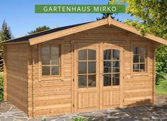 Gartenhaus Mirko 28 Gartenhaus Haus Satteldach