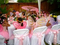Kreative Kiddie Events: Enchanted Garden Fairy Tea Party
