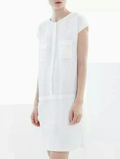 COS shirt placket dress
