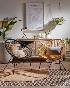 Terrazzo, Diy Bedroom Decor, Diy Home Decor, Grand Vase En Verre, Acapulco Chair, Indoor Places, Lounge Design, Home Room Design, Cool Chairs