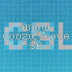 www.cudzieslova.sk Tech Companies, Company Logo, Logos, Logo