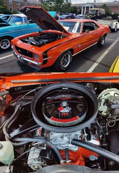 Chevrolet Chevelle, Chevrolet Camaro, Plymouth Barracuda, Good Ole, American Muscle Cars, Car Pictures, Custom Cars, Hot Rods, Engine