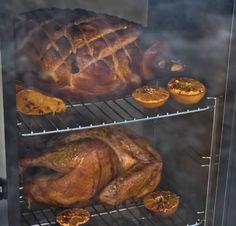 Oink 'N' Gobble – Masterbuilt Recipes Masterbuilt Recipes, Thanksgiving Recipes, Christmas Recipes, Smoked Meat Recipes, Smoking Recipes, Smoked Ham, Smoking Meat, Honey Mustard, Food Hacks