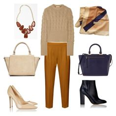 """""""Untitled #7"""" by garolga on Polyvore featuring French Connection, Michael Kors, Kendra Scott, Gianvito Rossi, Wallis, Henri Bendel and Yves Saint Laurent"""