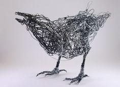 Flor de Lisboa: Wire art