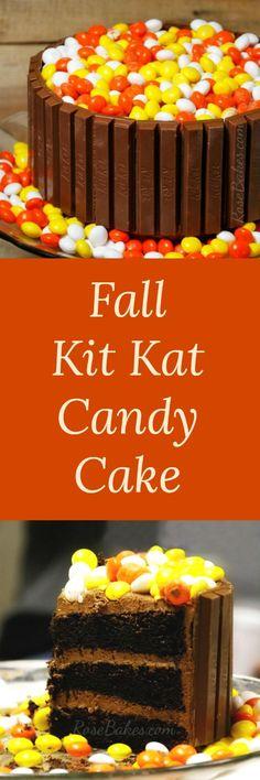 Fall Kit Kat Candy C