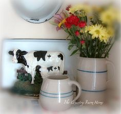 Simple country vignette