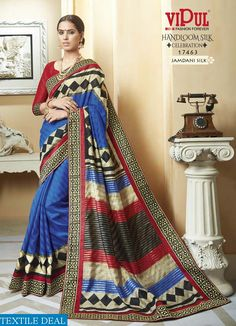 VIPUL HANDLOOM SILK 17451 TO 17486 SERIES WHOLESALE SILK SAREE CATALOG #nicecollection  #goodmateriel  #awesomelook Call&Whatsapp;+917405434651 website link :-http://textiledeal.in/wholesale-product/4220/Vipul-handloom-Silk-17451-to-17486-Series-Wholesale-Silk-Saree-Catalog