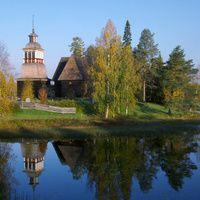 Petäjävesi y su famosa iglesia de madera - Finland