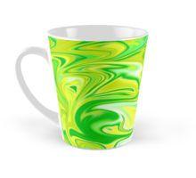 #green #marbleized Hippy Salad #mug