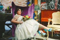 Editorial Noiva Rock Your Wedding - Para a III Oficina das Noivas | Local: Centro Cultural Olho da Rua. Produção: Oficina das Noivas