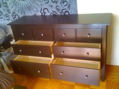 ikea Hemnes 8 drawers dresser assembled at the Columbia Plaza Apartments in Washington DC by Furniture Assembly Experts Company