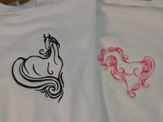 Elegant Wild Horses - DesignsBySiCK.com - 20 Designs<br>10 Fit the 4x4 Hoop and 10 Fit the 5x7 Hoop embroidery designs