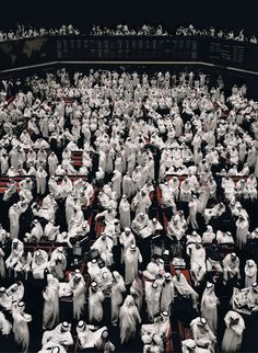 Crowd | Kuwait Stock Exchange, by Andreas Gursky
