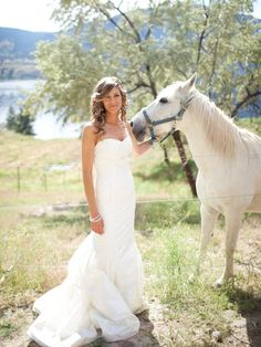 I want horses in my wedding pictures