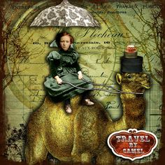 Travel By Camel by glitterbug