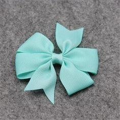 Baby Ribbon Bow Cute Girls Hairpins