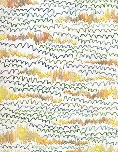 This image represents pattern. It is from booooooom.com and you can see zig-zags and wave scribbles everywhere.