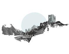 Landscape architecture plan - The Best Landscape Plan Drawing Section No 92 Landscape Architecture Section, Collage Architecture, Plans Architecture, Architecture Graphics, Landscape Plans, Architecture Drawings, Concept Architecture, Landscape Design, Architecture Student
