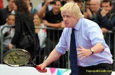 Il sindaco di Londra Boris Johnson.    Raccolta di immagini divertenti della vita politica (18 foto)