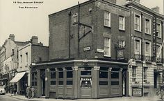 The Fountain, 16 Gillingham Street, Pimlico London History, Industrial Architecture, Gillingham, Fulham, Old London, Vintage Pictures, Westminster, Fountain, Past